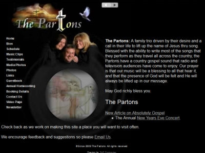 The Partons - Gospel Music Ministry