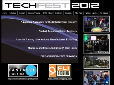 TechFest - A Lighting Tradeshow for the Entertainment Industry