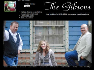 The Gibsons _ Gospel Music Ministry